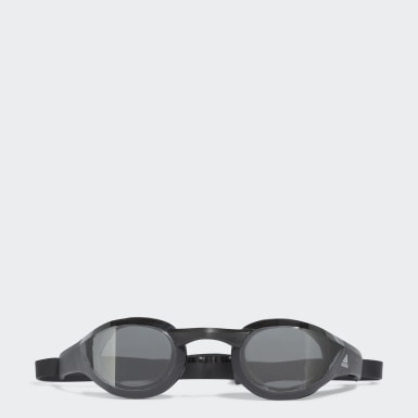 Adizero XX Mirrored Competition Swim Goggles Srebrny