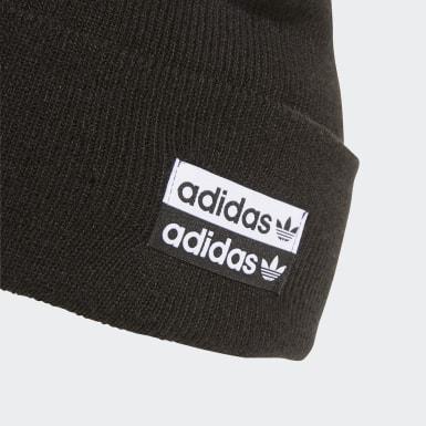 черный Шапка Cuff Knit
