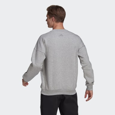 Men Athletics Grey adidas Sportswear Mountain Graphic Sweatshirt