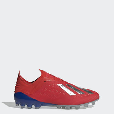 красный Футбольные бутсы X 18.1 AG