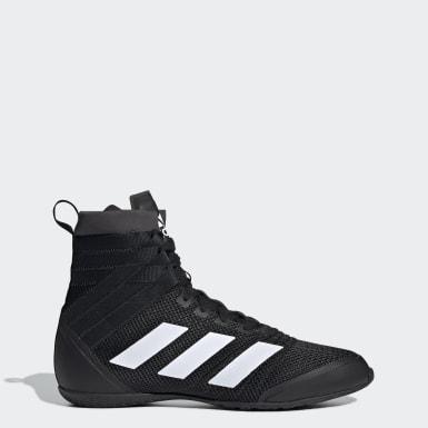 adidas box hog boxerstiefel boxstiefel weiß rot