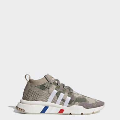 Ny Adidas Originals EQT Support ADV BrunHvitSvart Casual
