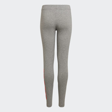 Leggings Essentials Linear Grigio Ragazza Athletics