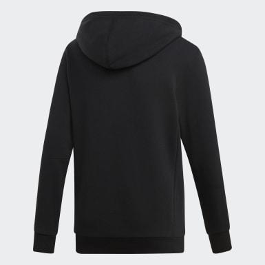 Jongens Training Zwart Must Haves Badge of Sport Fleece Pullover