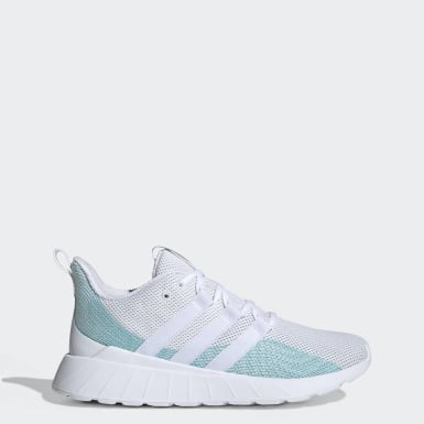 Women's Essentials White Questar Flow Parley Shoes