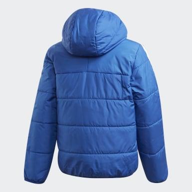 Chaqueta con capucha Padded Azul Niño Originals