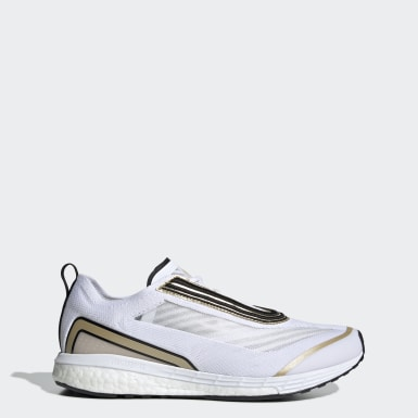 Women's adidas by Stella McCartney White Boston Shoes