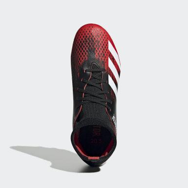 Boys Fodbold Sort Predator 20.3 Multi-Ground støvler