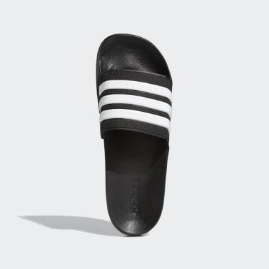Træning Sort Adilette Cloudfoam sandaler