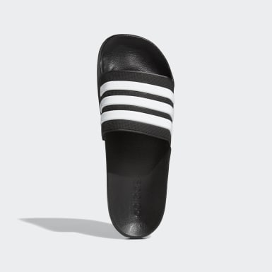 Winter Sports Black Adilette Cloudfoam Slides