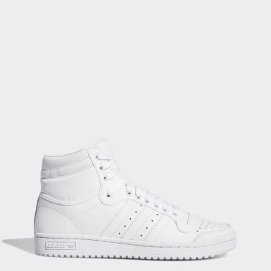 Men's Originals White Top Ten Hi Shoes