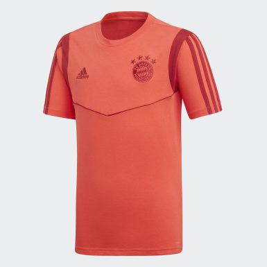 FCB TEE Y Czerwony