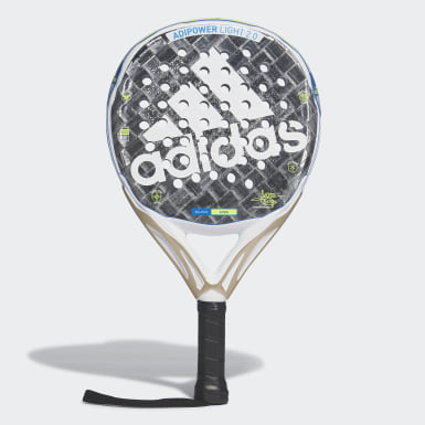 Padel-Tennis Adipower Light Padel-Schläger 2.0 Grau