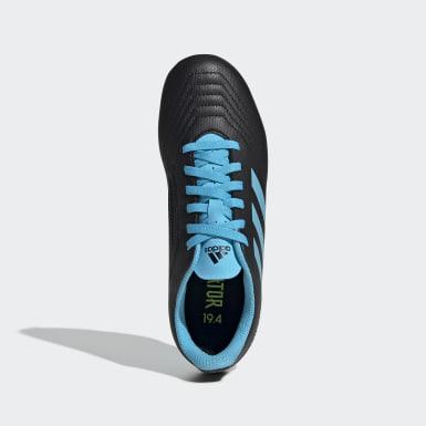 Children Soccer Black Predator 19.4 Flexible Ground Cleats