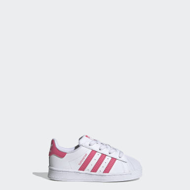 Kids Originals White Superstar Shoes
