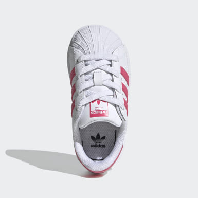Infants Originals White Superstar Shoes