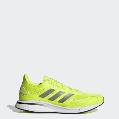 Sapatos Supernova Amarelo Homem Running