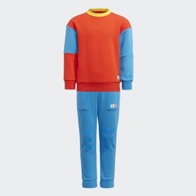 Conjunto adidas x Classic LEGO® Rojo Niño Training
