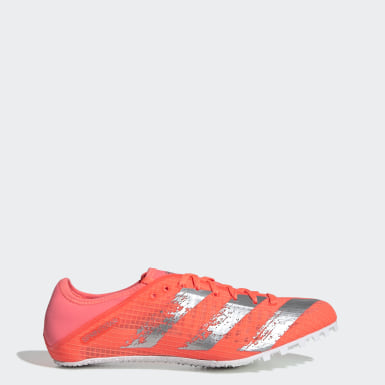 Men Track & Field Orange Sprintstar Spikes