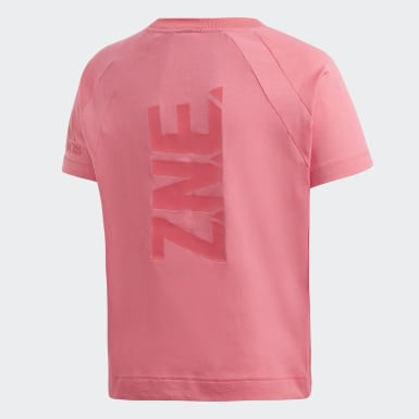 Remera adidas Z.N.E. Rosa Niña Training