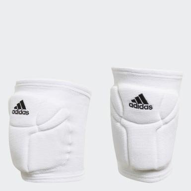Elite Volleyball Knebeskyttere Hvit