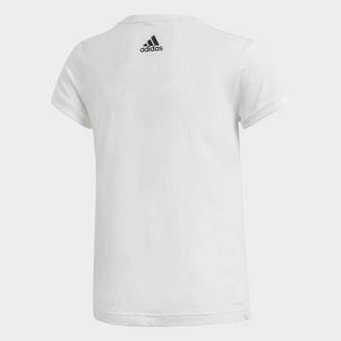 Genç Training Beyaz Icon Tişört