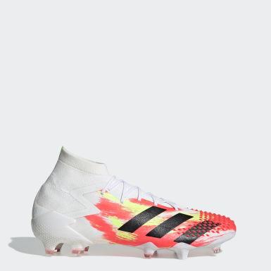 Botas Futebol Predator Mutator 20.1 – Piso firme Branco Futebol