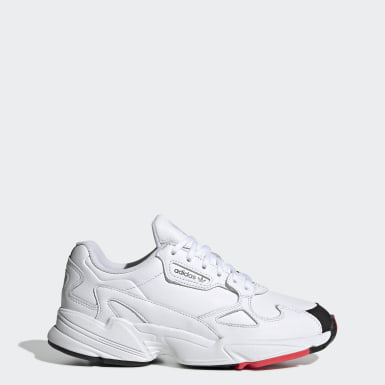 Women Originals White Falcon Shoes
