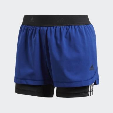 Shorts Dois-em-Um 3-Stripes