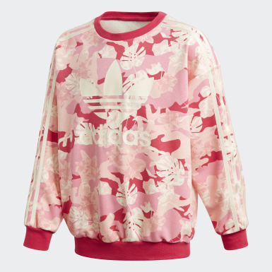 Sweatshirt Crew Bege Raparigas Originals