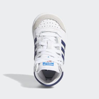 Sapatos Top Ten Hi Branco Criança Originals