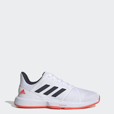 Chaussure CourtJam Bounce blanc Hommes Tennis