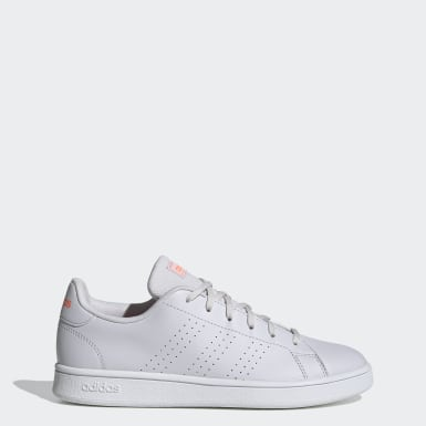 Tenis Advantage Base Gris Mujer Sport Inspired