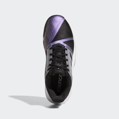 Men Tennis Black CourtJam Bounce Shoes