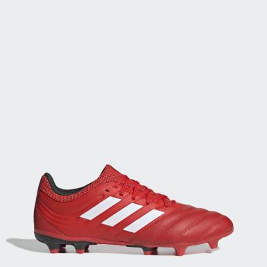 Calzado de fútbol Copa 20.3 Terreno Firme Rojo Hombre Fútbol
