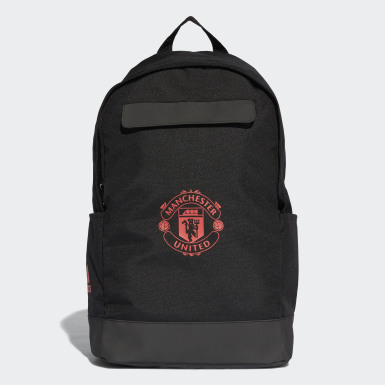 Football Black Manchester United Backpack