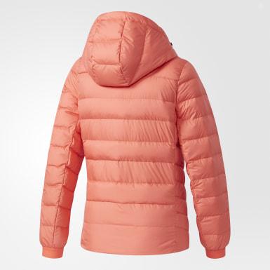 оранжевый Пуховик Climawarm