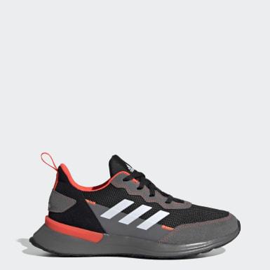 Kids Running Black RapidaRun Elite Shoes