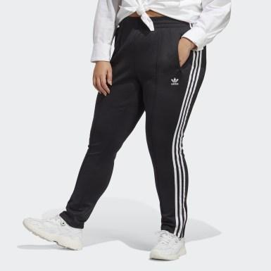 Γυναίκες Originals Μαύρο Primeblue SST Track Pants (Plus Size)