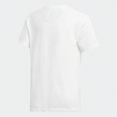 Youth Originals White Camouflage Tee