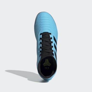 Chuteira Predator Tango 19.3 Society Azul Kids Futebol