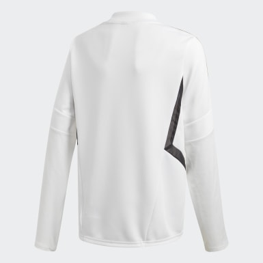 Training Top Real Madrid Blanc Garçons Football