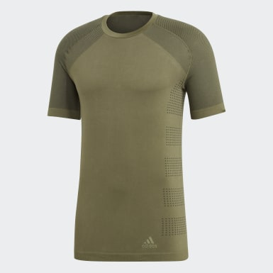 Camiseta Ultra Primeknit Light Verde Hombre Running