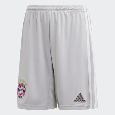 Youth 8-16 Years Football Grey FC Bayern Away Shorts