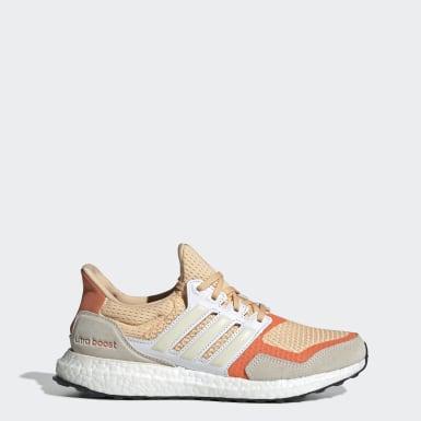 Dames Hardlopen Oranje Ultraboost S&L Schoenen