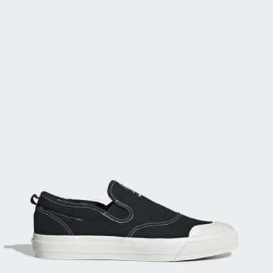 Heren Originals zwart Nizza RF Slip-on Schoenen