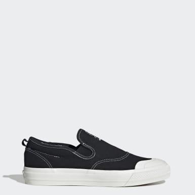 Heren Originals Zwart Nizza RF Slip-on Schoenen