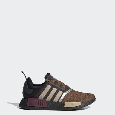 Youth 8-16 Years Originals Brown Star Wars Mandalorian NMD_R1 Shoes