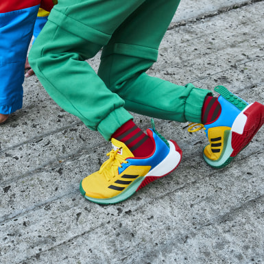 Chaussure adidas x LEGO® Sport Jaune Enfants Running