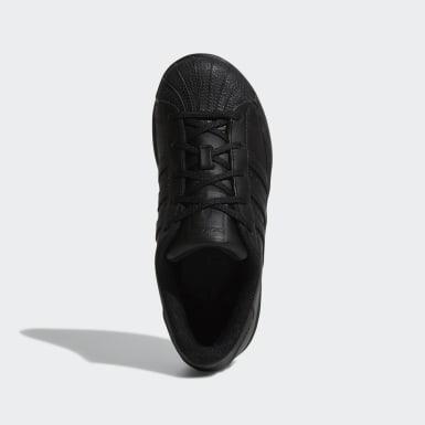 Children Originals Black Superstar Foundation Shoes